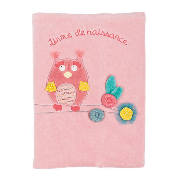Livre de naissance mademoiselle et ribambelle Moulin roty