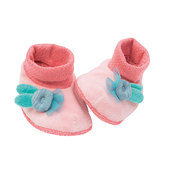 Chaussons bébé mademoiselle et ribambelle Moulin roty