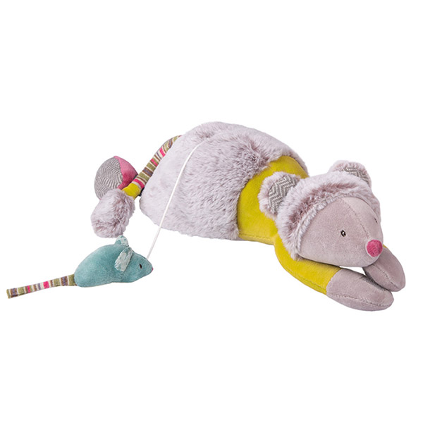 Peluche musicale souris les pachats Moulin roty