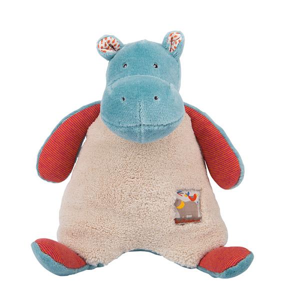 Hochet hippopotame les papoum Moulin roty