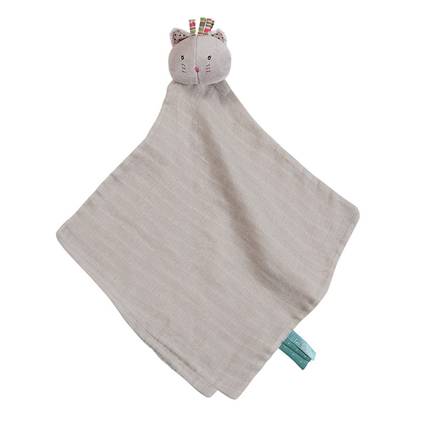 Doudou lange chat gris les pachats Moulin roty