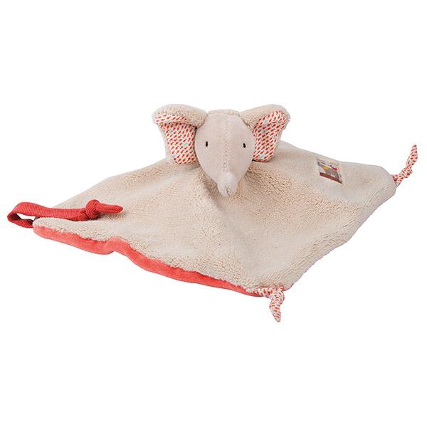 Doudou éléphant les papoum Moulin roty