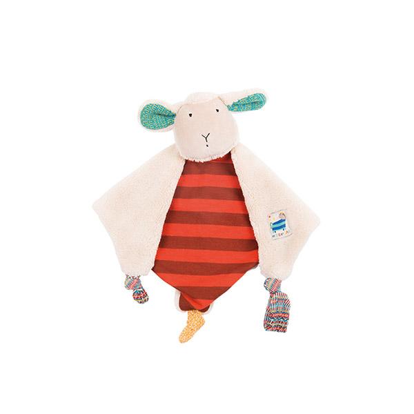Doudou mouton les zig et zag Moulin roty