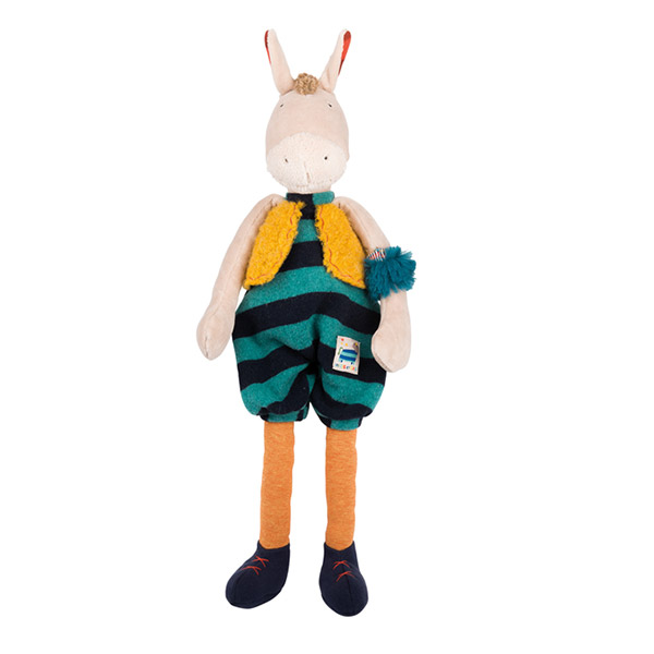 Peluche cheval les zig et zag Moulin roty
