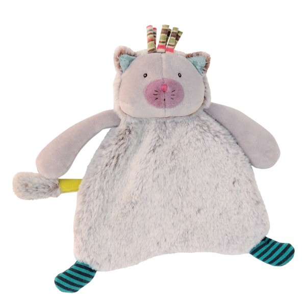 Doudou chacha gris les pachats Moulin roty