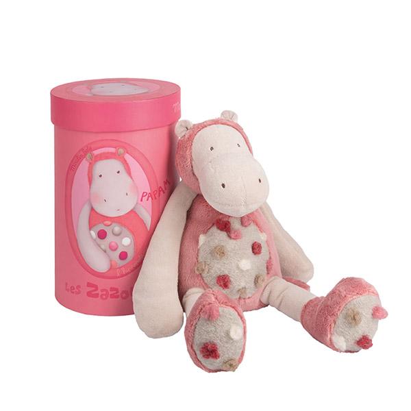 Peluche bébé hippopotame les zazous Moulin roty