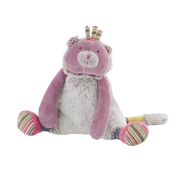 Doudou petit chat violet les pachats Moulin roty