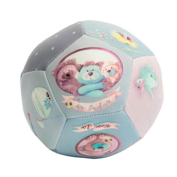 Jouet d'éveil bébé ballon souple 10cm les pachats Moulin roty