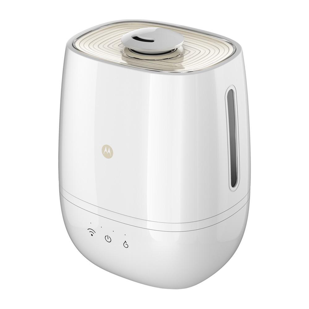 humidificateur connect avec purification de l 39 air et de l 39 eau de motorola. Black Bedroom Furniture Sets. Home Design Ideas