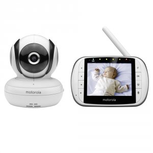 Babyphone video wifi pour bébé mbp85 connect