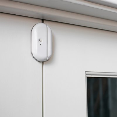 Lot de 2 capteurs connecté avec alertes pour portes fenêtres smart nursery Motorola