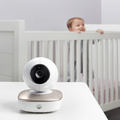 Smart nursery cam mbp87 connect Motorola
