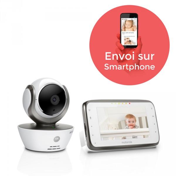 Babyphone vidéo mbp854 hdconnect Motorola