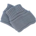 Chaussons pour bebe gris pur pas cher