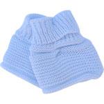 Chaussons pour bebe bleu pas cher