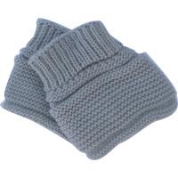 Chaussons pour bebe gris pur