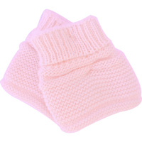 Chaussons pour bebe rose
