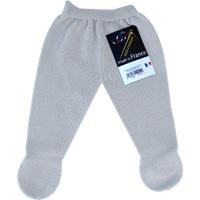 Pantalon a pieds sans couture gris pour bebe