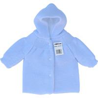 Pere noel a boutons pour bebe bleu