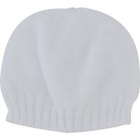 Bonnet bebe sans couture blanc