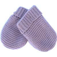 Moufles pour bebe lilas