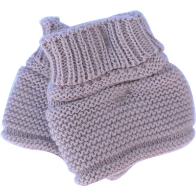 Chaussons pour bebe lilas Mlt