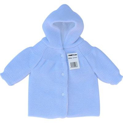 Pere noel a boutons pour bebe bleu Mlt