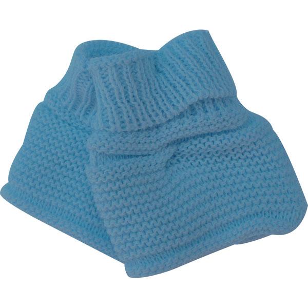 Chaussons pour bebe bleu ourson Mlt