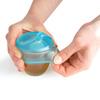 Lot de 2 capuchons tétine pour tasse bleu Mastrad baby