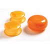 Lot de 2 capuchons bec pour tasse orange Mastrad baby