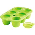 Babymoule 6 portions 60 ml vert pas cher