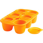 Babymoule 6 portions 150 ml orange pas cher
