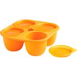 Babymoule 4 portions 280 ml orange pas cher
