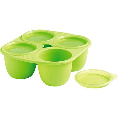 Mastrad baby Babymoule 4 portions 280ml vert
