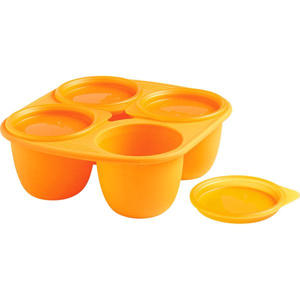 Babymoule 4 portions 280 ml orange Mastrad baby
