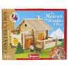 Jeujura - jouets la maison en rondins - 175 pieces Njb