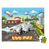 Juratoys - jouet valisette carrée - puzzle embarquement immédiat 54 pcs Njb