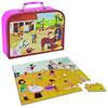 Juratoys - jouet valisette puzzle pour les filles Njb