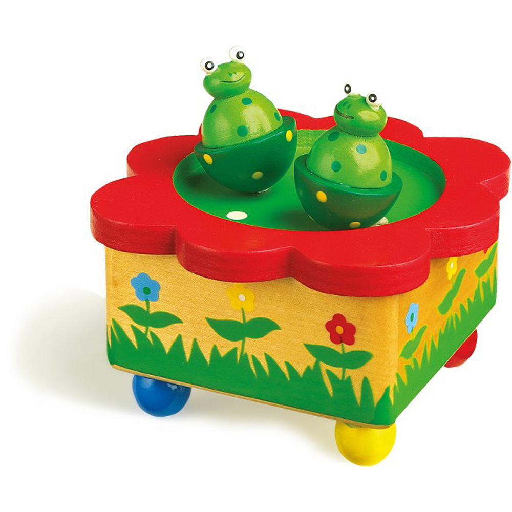 njb legler jouet bo te musique la danse des grenouilles. Black Bedroom Furniture Sets. Home Design Ideas