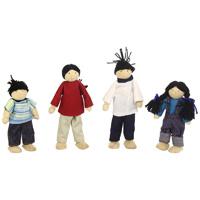 Djeco - jouet famille de poupées