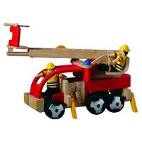 Plantoys - jouet camion de pompiers