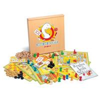 Jeujura - jouet coffret 150 regles - coffret serigraphie - pions bois