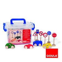 Goula - jouet pack de circulation goula