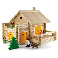 Jeujura - jouets la maison en rondins - 175 pieces