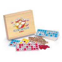Jeujura - jouet jeu de loto 48 cartes - pions bois - coffret serigraphie