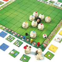 Gigamic - jouet jeu de plateau mouton haste bock
