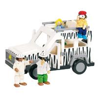 G&k - jouet poupées articulées safari