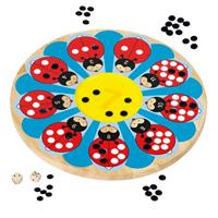 G&k - jouet jeu de coccinelle porte-bonheur