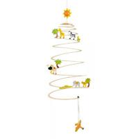 G&k - jouet mobile spirale savanne
