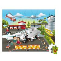 Juratoys - jouet valisette carrée - puzzle embarquement immédiat 54 pcs